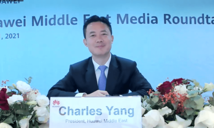 Charles Yang, President of Huawei Middle East: Huawei sees significant potential to support Saudi's journey to a digital economy