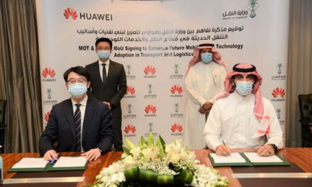 Saudi Ministry of Transport Signs MoU with Huawei to Enhance Future Mobility and Technology Adoption in Transport and Logistics Sector