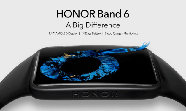 HONOR Band 6 Launches with Bigger Display and Premium Health Monitoring Features