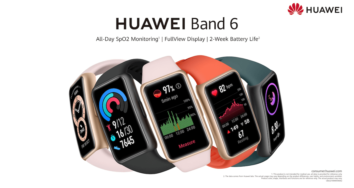 HUAWEI Band 6 Sells Out through online HUAWEI STORE in the Kingdom of Saudi Arabia in just 3 days