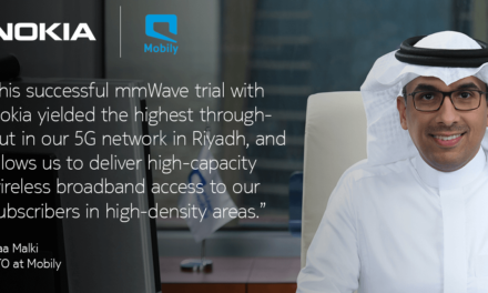 Nokia and Mobily achieve the highest throughput with mmWave in its live 5G network in Riyadh