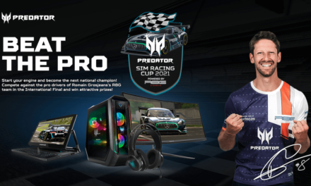 Acer Launches Predator Sim Racing Cup 2021