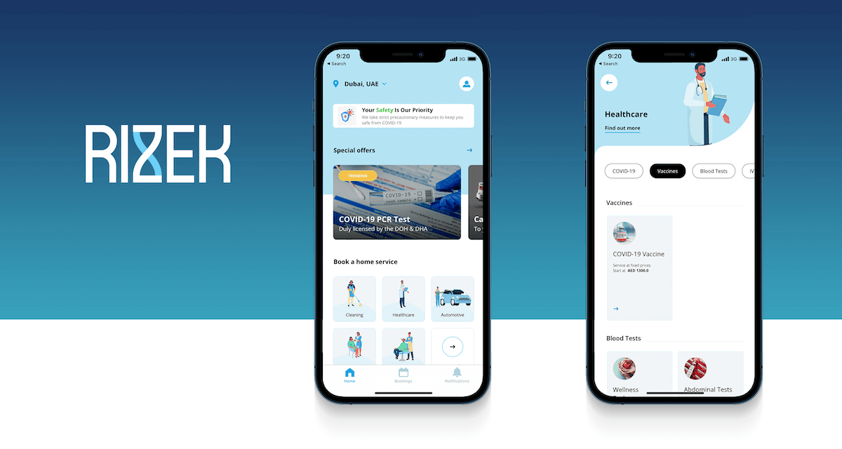 Rizek Becomes the First App in the World to Make at-home COVID-19 Vaccinations a Reality