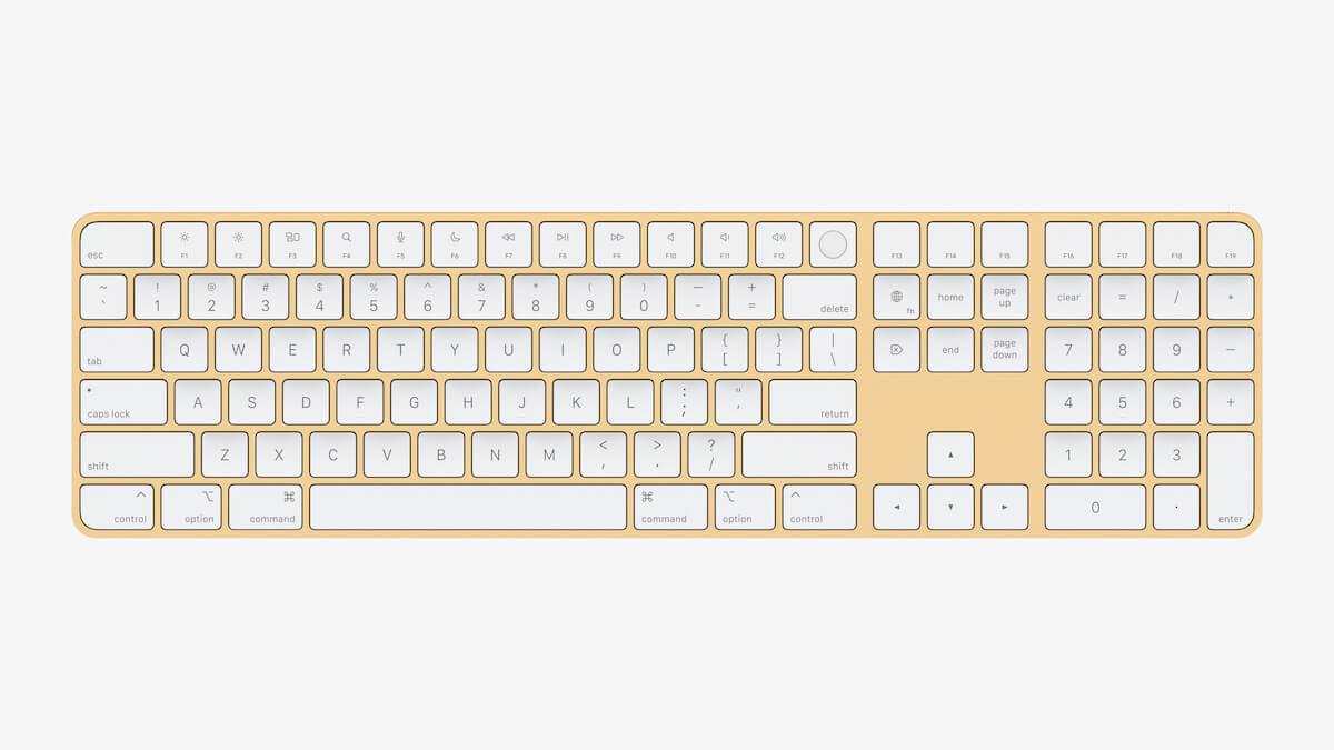 apple_new-imac-spring21_magic-keyboard-with-numeric-keypad-yellow_04202021