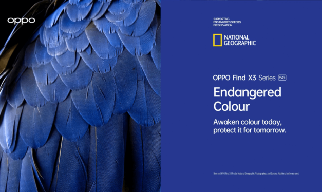 OPPO launches 'Endangered Colour' campaign in partnership with the National Geographic Society