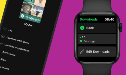 Spotify Introduces Downloads on the Apple Watch for Offline & Phone-Free Listening