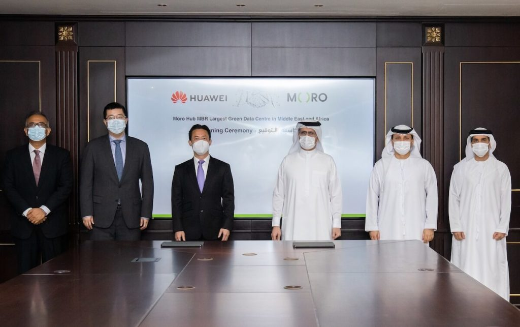 MORO HUB SIGNS AN AGREEMENT WITH HUAWEI 2
