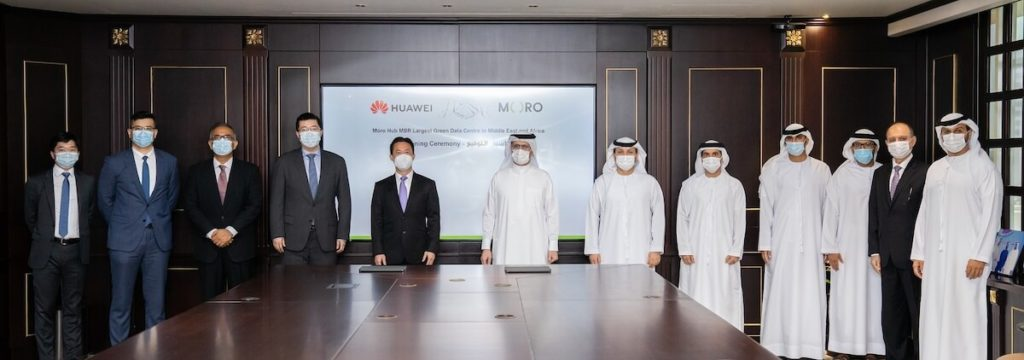 MORO HUB SIGNS AN AGREEMENT WITH HUAWEI 3