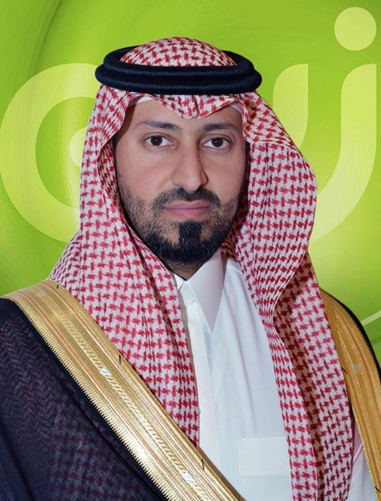 Prince Nayef bin Sultan Al Kabeer, Zain KSA Chairman