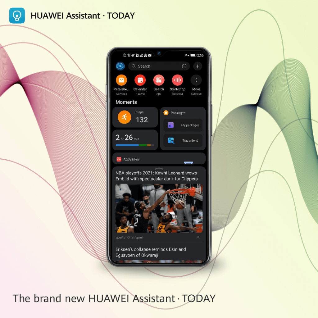 HUWAEI Assistant Today_English