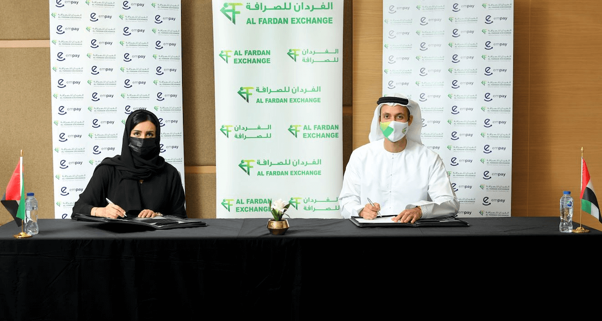 AL FARDAN EXCHANGE L.L.C JOINS FORCES WITH EMPAY'S CONTACTLESS ECOSYSTEM IN LANDMARK DEAL TO PROVIDE REMITTANCE SERVICES