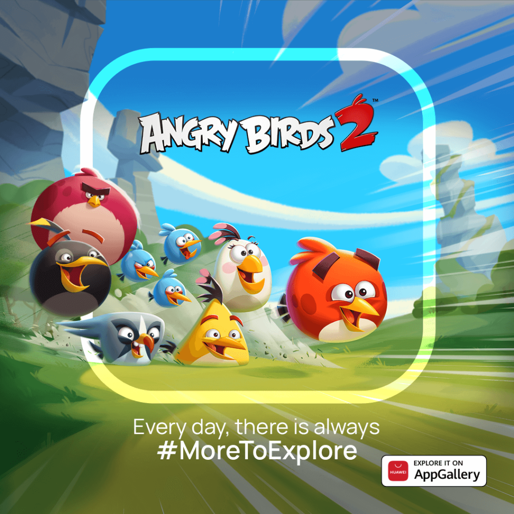 Angry Birds 2, one of the most popular mobile games arrives on AppGallery