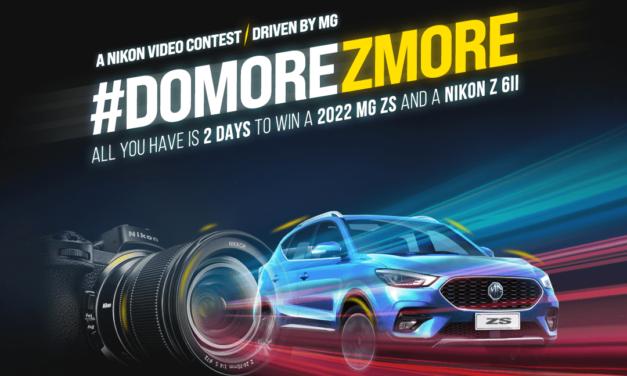 Lights, Camera, Drive! Nikon & MG to Find, Celebrate, & Reward the UAE's Best Video Content Creators #DoMoreZMore