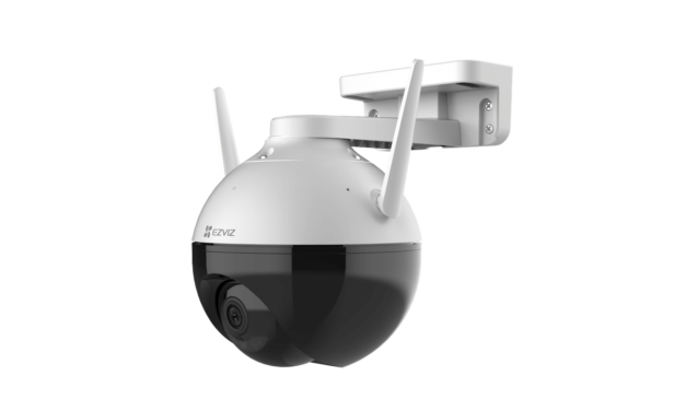 New EZVIZ C8C, its first-ever outdoor pan/tilt Wi-Fi camera, is the perfect smart device to help keep an eye on family as they enjoy the summer sun