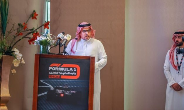 Formula 1 Saudi Arabian Grand Prix Showcases  Jeddah Corniche Circuit to Media
