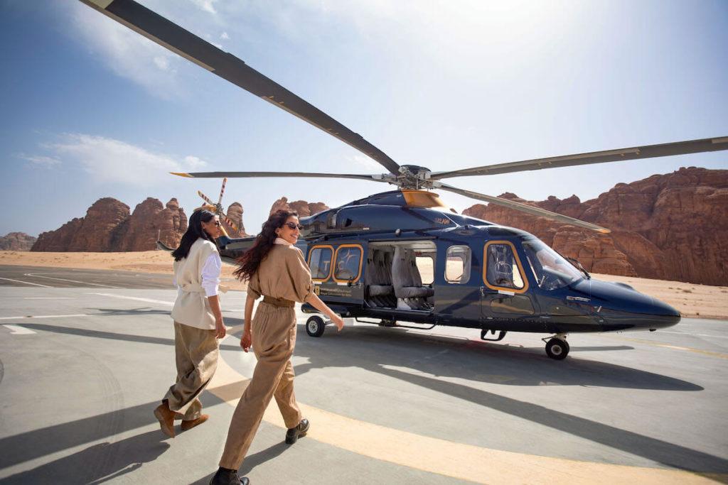 Helicopter AlUla