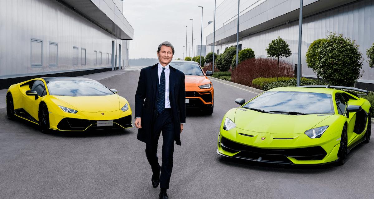 Lamborghini sales: the best half-year ever