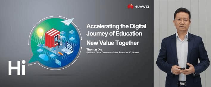 Thomas Xu, President of the Global Government Sales of Huawei Enterprise BG