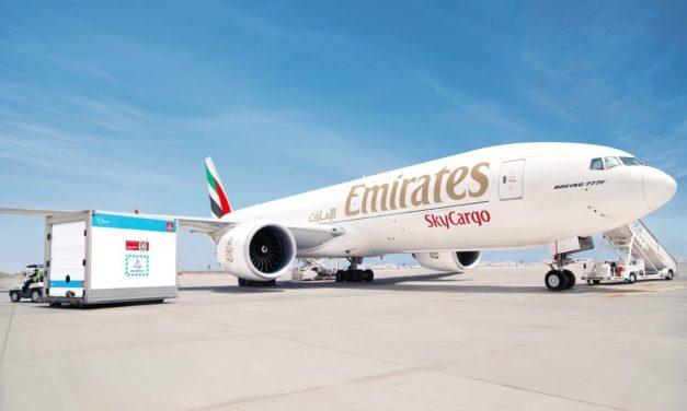 On a historic date for modern vaccines, Emirates SkyCargo crosses COVID-19 vaccine transportation milestone