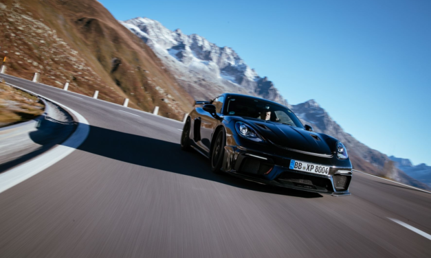 New Porsche 718 Cayman GT4 RS excels during final testing